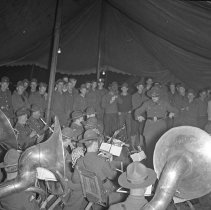 """Image of 41st Division, Recreation 3 - """"41st Division 1941 - Recreation:  Band Concert"""""""