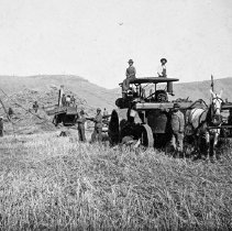 "Image of Alicel, Farm Thresher 3 - ""Geo. Ruckman Thresher - Alicel area - 1900+/-"""