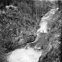 "Image of Wallowa Lake, River 3 - ""College Men's Club Weekend at Wallowa Lake - April 1940"""