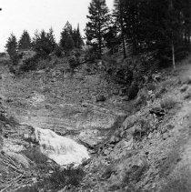 "Image of Wallowa Lake, Hillside - ""College Men's Club Weekend at Wallowa Lake - April 1940"""
