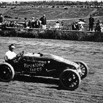 "Image of Automobile, Dirt Track 2 - ""Auto Races - Portland - 1912"""