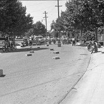 "Image of California, Bike / Trike Rodeo 3 - ""Bike / Trike Regatta on Via Pinale - March of Dimes fund - Organized by Sally Salo - 1948"""