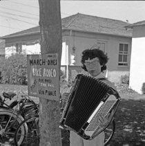 "Image of California, Bike / Trike Rodeo 4 - ""Bike / Trike Regatta on Via Pinale - March of Dimes fund - Organized by Sally Salo - 1948"""