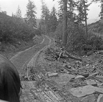 """Image of Mill Canyon, Road - """"Road in Mill Canyon - 1912"""""""