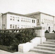 "Image of 1934 Inlow Hall - ""1934"" - Eastern Oregon Normal School - La Grande, Oregon - Administration Bldg."