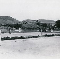 """Image of 1934 Tennis, Doubles - """"1934 Tennis Courts"""""""