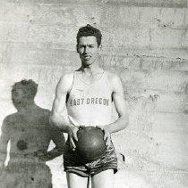 """Image of 1935 Basketball Player 2 - """"Lewis York"""""""