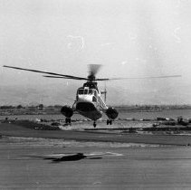 "Image of California Airport, Helicopter - ""1947 - Oakland, Calif"""