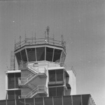 "Image of California Airport, Tower 3 - ""1947 - Oakland, Calif - Airport tower"""
