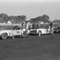"Image of California, Car Races 1 - ""Laguna Seca Car Races - on Fort Ord Complex - Monterey Grand Prix - 1970+/-"""