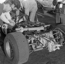 "Image of California, Car Races 2 - ""Laguna Seca Car Races - on Fort Ord Complex - Monterey Grand Prix - 1970+/-"""