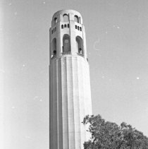 """Image of California, Coit Tower - """"Coit Tower - June 1968"""""""