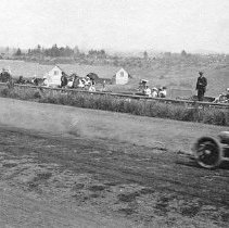 "Image of Automobile, Dirt Track 4 - ""Auto Races - Portland - 1912"""
