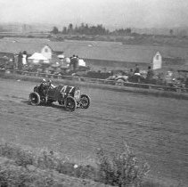 "Image of Automobile, Dirt Track 6 - ""Auto Races - Portland - 1912"""