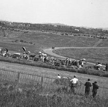 "Image of Automobile, Dirt Track 7 - ""Auto Races - Portland - 1912"""