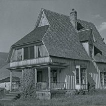 "Image of Cove Church, Ascension Rectory - ""Rectory of Ascension Church, Cove, Oregon - built in 1876 - photo taken, circa 1940"""