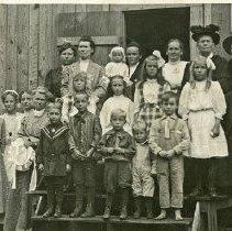 """Image of Eden, Sunday School - """"Eden S.S. [Sunday School?] 1911-12"""""""
