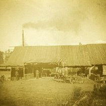 "Image of GRV, Lumber Mill - ""Grande Ronde Valley - Lumber mill - circa 1890's"""