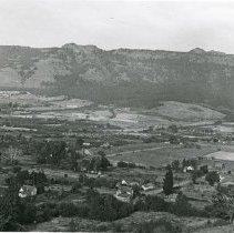 "Image of Cove, 1935 - ""XX""  Cove, Oregon - Sept. 1935 - Mt. Fanny is prominent in the background.