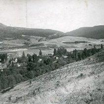 """Image of Cove, Hilltop View 1 - """"Cove, Oregon - circa 1910"""""""