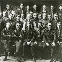 "Image of Elgin, Fire Department - ""Group portrait of the members of the Elgin Fire Department - circa 1900."""