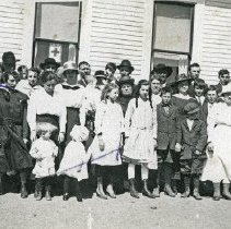 "Image of Baker County School, Pocahontas 3 - ""Pocahontas School, Baker County, Oregon"" - circa 1912."