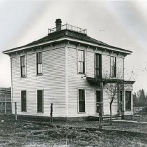 """Image of Enterprise Home, Wagner - """"A.M. Wagner home.  First house build in Enterprise, Oregon (Wallowa County).  Built in 1887."""""""
