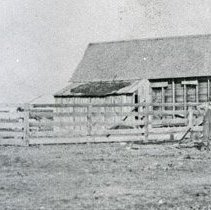 "Image of GRV, Horseshoes - ""'Papa would beat his sons once a week - Sunday afternoons at horseshoes' - early 1900's."""