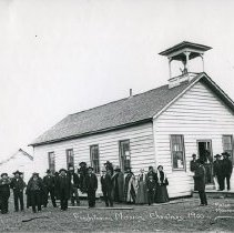 "Image of Umatilla, Presbyterian MIssion - ""Presbyterian Mission in Umatilla - Christmas 1900"""