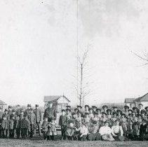 "Image of Umatilla Indian School - ""'Umatilla Indian School - 1906"""