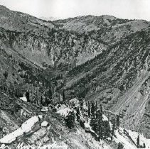 """Image of Cornucopia, Last Chance Mine 1 - """"Last Chance Mine near Cornucopia, Ore. - circa 1914."""""""