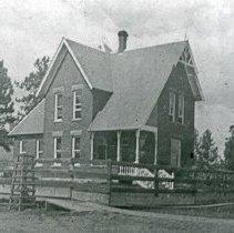 "Image of Elgin Home, Mays - ""Bob C. Mays house, Elgin, Ore. - circa 1900-01 - house built in 1899."""
