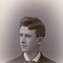 "Image of Portrait - Stevens, Dudley 3 - ""Dudley Ward Stevens - Portland, Oregon - about 1888.  Godson of Miss Margaret Bell of Union, Oregon."""