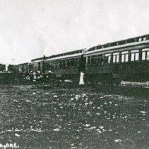 """Image of Wallowa, Railroad Depot - """"No. 16 Depot at Wallowa, Ore. - O.W.R.R.&N. - circa 1912."""""""