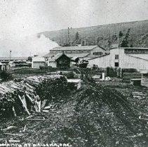 """Image of Wallowa, Lumber Mill 1 - """"No. 14 Lumber Mill at Wallowa, Ore. - circa 1912 - Nibley-Mimnaugh Lumber Co."""""""