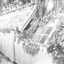 "Image of Cove, Cherry Fair Display 16 - ""Cherry Fair cherry display - circa 1912 - Cove, Oregon."