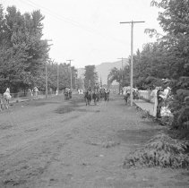 "Image of Cove, Street Scene 4 - ""Cove, Oregon street scene - circa 1912."""