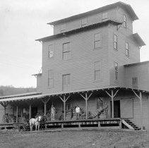 """Image of Cove Flour Mill 1 - """"Cove Flour Mill.  Cove, Oregon - circa 1914."""""""