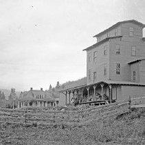 """Image of Cove Flour Mill 2 - """"Cove Flour Mill.  Cove, Oregon - circa 1914."""""""