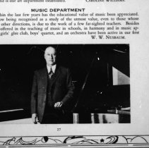 "Image of 1929-30 Employee, W. W. Nusbaum - ""W.W. Nusbaum - MUSIC DEPARMENT