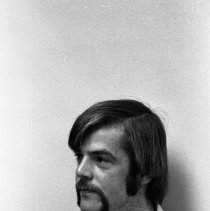 Image of 1974 Student, Man 33 - Three images of an unidentified young man.