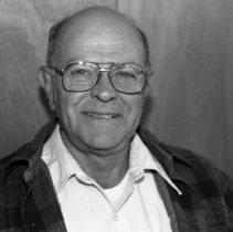 "Image of 1986 Employee, Don Hagey 1-2 - ""11/1986 - Don Hagey, Elderhostel Director"" - two images"