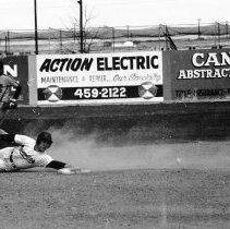 """Image of 1987 Baseball Action - """"4/1987 - Baseball""""  Thirteen images taken at a baseball game in Caldwell, Idaho."""