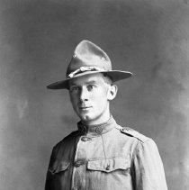 "Image of La Grande, Hugh Hulse 2 - ""Hugh Hulse - WWI Uniform - 1918/19 - Gifford's father Union County Oregon"""