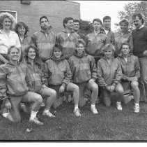 """Image of 1989 Cross Country Team 1-1 - """"1989 - Cross Country Team"""""""