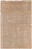 Image of New England Palladium June 5 1812 - Title Page