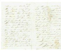 Image of Letter - Back