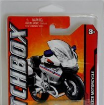 Image of Matchbox 1:43 BMW R1200 RT-R Police Motorcycle