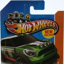 Image of Hotwheels 1:64 scale 2012 MINI Countryman Rally