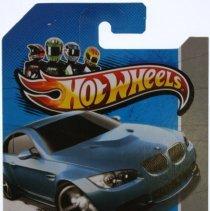 Image of Hotwheels 1:64 scale BMW E92 M3 Blue